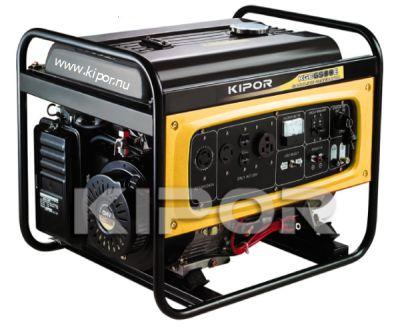 Kipor KGE6500E Benzine Aggregaat 6 kVA