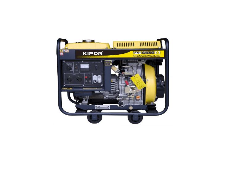 Diesel Generator In Home Kipor Kde6500e3 Diesel Aggregaat Kva 400v Power Products