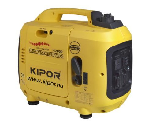 Kipor IG2000 Benzne Aggregaat 2 kVA